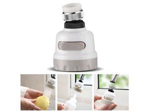 Poweradd Moveable Kitchen Water Tap Head 360° Rotatable Faucet Water Saving Filter Sprayer for Kitchen Bathroom Water Saving Sprayers Shower