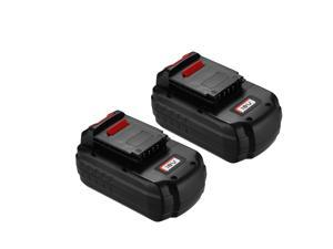 Powerextra 2 Pack 18V 3700mAh Replacement Battery for Porter Cable PC18B 18 Volt Cordless Tools Batteries
