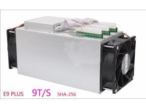 Ebit E9 Plus 9T Bitcoin Miner Newest 14nm Asic Miner Btc Miner Better Than Antminer S7 Equivalent to Antminer S9