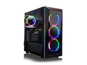 CLX SET Gaming Desktop - Liquid Cooled Intel Core i9 10850K 3.6GHz 10-Core Processor, 32GB DDR4 Memory, GeForce RTX 3070 Ti 8GB GDDR6X Graphics, 500GB SSD, 4TB HDD, WiFi, Windows 10 Home 64-bit