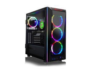 CLX SET Gaming Desktop - AMD Ryzen 9 3900X 3.80 GHz 12-Cores Processor, 32GB DDR4 Memory, GeForce RTX 3090 24GB GDDR6X Graphics, 480GB SSD, 3TB HDD, WiFi, Windows 10 Home 64-bit