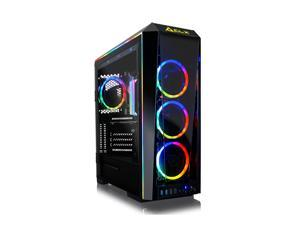 CLX SET Gaming Desktop - Liquid Cooled - Intel Core i9 10980XE 3.00 GHz 18-Cores Processor, 64GB DDR4 Memory, GeForce RTX 3090 24GB GDDR6X Graphics, 1TB SSD, 6TB HDD, WiFi, Windows 10 Home 64-bit