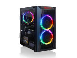 CLX SET Gaming Desktop - Liquid Cooled Intel Core i5 10400 2.9Ghz 6-Core Processor, 16GB DDR4 Memory, GeForce RTX 3070 8GB GDDR6 Graphics, 240GB SSD, 2TB HDD, WiFi, Windows 10 Home 64-bit