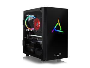CLX SET VR-Ready Gaming Desktop - AMD Ryzen 9 3900X 3.8GHz 12-Core Processor, 16GB DDR4 Memory, GeForce RTX 3060 Ti 8GB GDDR6 Graphics, 480GB SSD, 2TB HDD, WiFi, Windows 10 Home 64-bit