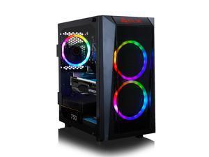 CLX SET Gaming Desktop - Intel Core i5 10400F 2.9GHz 6-Core Processor, 16GB DDR4 Memory, GeForce RTX 3060 Ti 8GB GDDR6 Graphics, 240GB SSD, 2TB HDD, WiFi, Windows 10 Home 64-bit