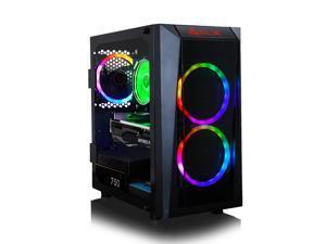 CLX SET VR-Ready Gaming Desktop - AMD Ryzen 9 3900X 3.8GHz 12-Core Processor, 16GB DDR4 Memory, GeForce RTX 3070 8GB GDDR6 Graphics, 240GB SSD, 2TB HDD, WiFi, Windows 10 Home 64-bit