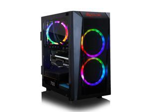 CLX SET VR-Ready Gaming Desktop - Liquid Cooled AMD Ryzen 9 5900X 3.7GHz 12-Core Processor, 16GB DDR4 Memory, GeForce RTX 3060 Ti 8GB GDDR6 Graphics, 240GB SSD, 2TB HDD, WiFi, Windows 10 Home 64-bit