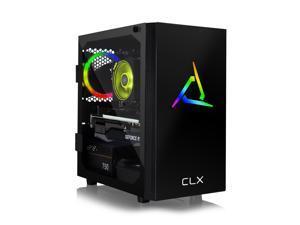 CLX SET Gaming Desktop - AMD Ryzen 9 3900X 3.8GHz 12-Core Processor, 16GB DDR4 Memory, GeForce RTX 3060 12GB GDDR6 Graphics, 500GB SSD, 3TB HDD, WiFi, Windows 10 Home 64-bit