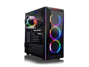 CLX SET VR-Ready Gaming Desktop - Liquid Cooled Intel Core i9 9900KF 3.6GHz 8-Core Processor, 32GB DDR4 Memory, GeForce RTX 3060 Ti 8GB GDDR6 Graphics, 960GB SSD, 4TB HDD, WiFi, Windows 10 Home 64-bit