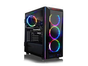 CLX SET VR-Ready Gaming Desktop - Liquid Cooled Intel Core i7 10700KF 3.8GHz 8-Core Processor, 32GB DDR4 Memory, GeForce RTX 3060 Ti 8GB GDDR6 Graphics, 960GB SSD, 4TB HDD, WiFi, Windows 10 Home