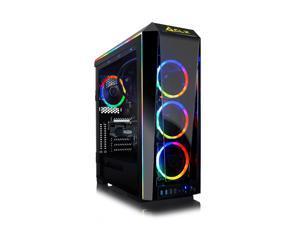 CLX SET VR-Ready Gaming Desktop - Liquid Cooled AMD Ryzen 9 5950X 3.4GHz 16-Core Processor, 64GB DDR4 Memory, Radeon RX 6900 XT 16GB GDDR6 Graphics, 1TB SSD, 6TB HDD, WiFi, Windows 10 Home 64-bit