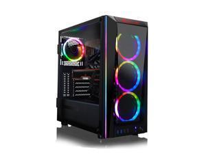 CLX SET VR-Ready Gaming Desktop - Liquid Cooled Intel Core i9 10900K 3.7GHz 10-Core Processor, 32GB DDR4 Memory, Radeon RX 6900 XT 16GB GDDR6 Graphics, 480GB SSD, 3TB HDD, WiFi, Windows 10 Home 64-bit
