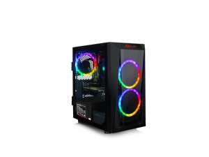 CLX SET Gaming Desktop AMD Ryzen 3 2200G 3.5GHz 4-Core, Wraith Stealth Cooler, 8GB Memory, NVIDIA GeForce GTX 1660 6GB Graphics, 120GB SSD + 1TB HDD, WiFi, Mini-Tower, Windows 10 Home