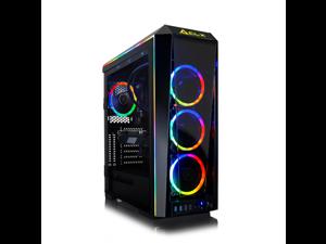 CLX SET Gaming Desktop - Intel Core i7 10700K Processor, 64GB DDR4 Memory, NVIDIA GeForce RTX 3080 Graphics, 1 TB SSD, 6 TB HDD, WiFi, Windows 10 Home 64-bit