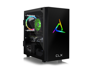 CLX SET Gaming Desktop - AMD Ryzen 7 3700X Processor, 32GB DDR4 Memory, NVIDIA GeForce RTX 3080 Graphics, 480 GB SSD, 3 TB HDD, WiFi, Windows 10 Home 64-bit