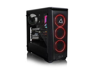 CLX SET Gaming Desktop - Intel Core i9 10850K Processor, 32GB DDR4 Memory, NVIDIA GeForce RTX 3080 Graphics, 960 GB SSD, 4 TB HDD, WiFi, Windows 10 Home 64-bit