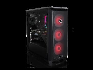 CLX SET Gaming Desktop - AMD Ryzen 9 3900X Processor, 32GB DDR4 Memory, NVIDIA GeForce RTX 3080 Graphics, 960 GB SSD, 4 TB HDD, WiFi, Windows 10 Home 64-bit