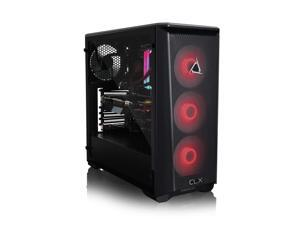 CLX SET Gaming Desktop - Liquid Cooled - AMD Ryzen 9 3950X 3.50 GHz 16-Cores Processor, 32GB DDR4 Memory, GeForce RTX 3090 24GB GDDR6X Graphics, 960GB SSD, 4TB HDD, WiFi, Windows 10 Home 64-bit