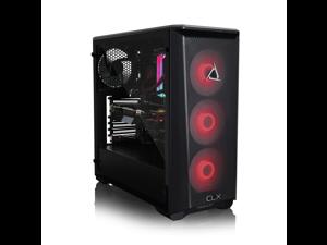 CLX SET VR-Ready Gaming Desktop - Liquid Cooled Intel Core i9 10900K 3.7Ghz 10-Core Processor, 32GB DDR4 Memory, GeForce RTX 3070 8GB GDDR6 Graphics, 960GB SSD, 4TB HDD, WiFi, Windows 10 Home 64-bit