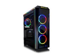 CLX SET VR-Ready Gaming Desktop - Liquid Cooled Intel Core i9 10850K 3.6Ghz 10-Core Processor, 64GB DDR4 Memory, GeForce RTX 3070 8GB GDDR6 Graphics, 1TB SSD, 6TB HDD, WiFi, Windows 10 Home 64-bit