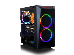 CLX SET Gaming Desktop - AMD Ryzen 5 5600X 3.7GHz 6-Core Processor, 16GB DDR4 Memory, GeForce RTX 3060 Ti 8GB GDDR6 Graphics, 240GB SSD, 2TB HDD, WiFi, Windows 10 Home 64-bit