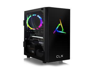 CLX SET VR-Ready Gaming Desktop - Liquid Cooled AMD Ryzen 9 5900X 3.7Ghz 12-Core Processor, 32GB DDR4 Memory, GeForce RTX 3070 8GB GDDR6 Graphics, 480GB SSD, 3TB HDD, WiFi, Windows 10 Home 64-bit