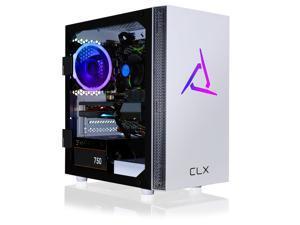 CLX SET Gaming Desktop - Intel Core i5 10400F 2.9GHz 6-Core Processor, 16GB DDR4 Memory, GeForce RTX 3060 12GB GDDR6 Graphics, 500GB NVMe M.2 SSD, 2TB HDD, WiFi, Win 10 Home 64-bit