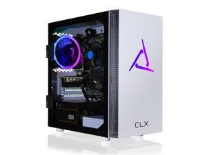 CLX SET Gaming Desktop - Intel Core i5 10400F 2.9GHz 6-Core Processor, 16GB DDR4 Memory, GeForce GTX 1660 SUPER 6GB GDDR6 Graphics, 500GB NVMe M.2 SSD, 2TB HDD, WiFi, Win 10 Home 64-bit