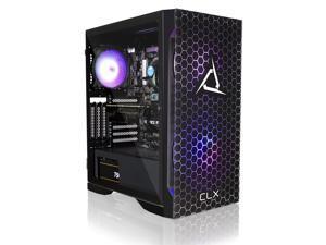 CLX SET Gaming Desktop - Intel Core i7 10700F 2.9GHz 8-Core Processor, 16GB DDR4 Memory, GeForce RTX 3070 Ti 8GB GDDR6X Graphics, 500GB NVMe M.2 SSD, 2TB HDD, WiFi, Win 10 Home 64-bit