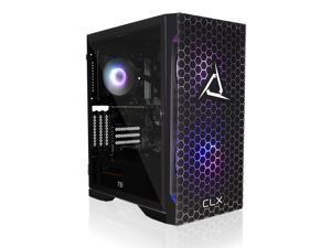 CLX SET Gaming Desktop - Liquid Cooled AMD Ryzen 9 5900X 3.7GHz 12-Core Processor, 16GB DDR4 Memory, GeForce RTX 3070 Ti 8GB GDDR6X Graphics, 500GB NVMe M.2 SSD, 3TB HDD, WiFi, Win 10 Home 64-bit