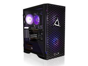 CLX SET Gaming Desktop - AMD Ryzen 7 3800X 3.9GHz 8-Core Processor, 16GB DDR4 Memory, GeForce RTX 3070 Ti 8GB GDDR6X Graphics, 500GB SSD, 3TB HDD, WiFi, Windows 10 Home 64-bit
