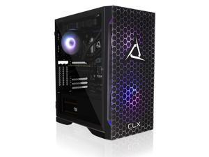 CLX SET Gaming Desktop - Liquid Cooled Intel Core i9 10850K 3.6GHz 10-Core Processor, 16GB DDR4 Memory, GeForce RTX 3070 Ti 8GB GDDR6X Graphics, 500GB NVMe M.2 SSD, 3TB HDD, WiFi, Win 10 Home 64-bit