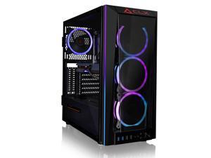 CLX SET Gaming Desktop - Liquid Cooled AMD Ryzen 9 5900X 3.7GHz 12-Core Processor, 32GB DDR4 Memory, GeForce RTX 3060 12GB GDDR6 Graphics, 500GB SSD, 4TB HDD, WiFi, Windows 10 Home 64-bit