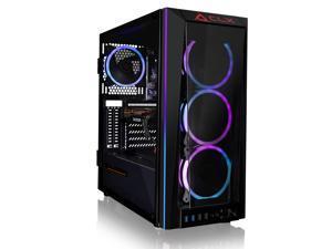 CLX SET Gaming Desktop - Liquid Cooled Intel Core i7 11700KF 3.6GHz 8-Core Processor, 32GB DDR4 Memory, Radeon RX 6700 XT 12GB GDDR6 Graphics, 500GB SSD, 4TB HDD, WiFi, Windows 10 Home 64-bit