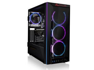 CLX SET Gaming Desktop - Liquid Cooled Intel Core i7 10700KF 3.8GHz 8-Core Processor, 32GB DDR4 Memory, GeForce RTX 3070 Ti 8GB GDDR6X Graphics, 500GB SSD, 4TB HDD, WiFi, Windows 10 Home 64-bit