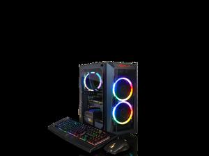 CLX SET Intel Core i7 9700K 3.6GHz, 16GB DDR4 Memory, NVIDIA GeForce RTX 2080 8GB, 480GB SSD +  2TB HDD, WiFi, Win 10 Home 64-bit