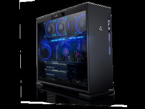 CLX Set, Extreme Gaming PC, AMD Ryzen Threadripper 2990WX 3.00GHz (32 Cores), 32GB DDR4, 6TB HDD & 960GB SSD, Dual (2x) NVIDIA RTX 2080 Ti 11GB GDDR6 in SLI, Black/Blue LED Fans, MS Windows 10 64-Bit