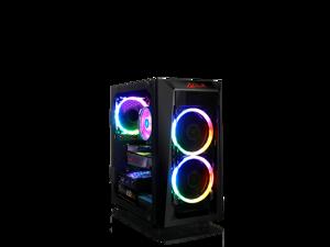 CLX SET with AMD Ryzen 7 3800X 3.9GHz, Radeon RX 5700XT 8GB, 16GB Mem, 960GB SSD, WiFi, MS Win 10 Home