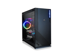 CLX SET Liquid-Cooled Gaming Desktop Intel Core i7 9700K 8-Core 3.6GHz, 16GB DDR4 Memory, NVIDIA GeForce GTX 1660 6GB Graphics, 480GB SSD, 3TB HDD, WiFi, Black Mid-Tower with RGB LED Ring Fans