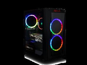CLX SET VR-Ready Gaming Desktop w/ AMD Ryzen 5 3600 Processor, 8GB DDR4 Memory, NVIDIA GeForce RTX 2060 SUPER Graphics, 240 GB SSD, 2 TB HDD, WiFi, Windows 10 Home 64-bit