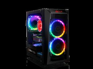CLX SET VR-Ready Gaming Desktop w/ AMD Ryzen 7 3800X Processor, 16GB DDR4 Memory, AMD Radeon RX 5700 XT Graphics, 240 GB SSD, 2 TB HDD, WiFi, Windows 10 Home 64-bit