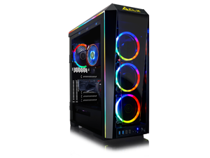 CLX SET VR-Ready Gaming Desktop w/ AMD Ryzen 7 3800X Processor, 32GB DDR4 Memory, NVIDIA GeForce RTX 2070 SUPER Graphics, 1 TB SSD, 3 TB HDD, WiFi, Windows 10 Home 64-bit