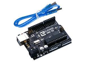 Elegoo UNO R3 Board ATmega328P ATMEGA16U2 with USB Cable Compatible With Arduino UNO R3