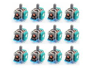 12  pcs Analog Stick Joystick Replacement for XBox One PS4 DS4 Controller