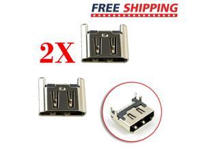 2X Replacement HDMI Port Socket Interface Connector For Sony PlayStation 4 PS4