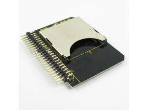 """SD SDHC SDXC MMC Memory Card to IDE 2.5"""" 44Pin Male Adapter Converter"""