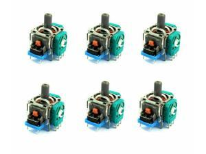 New 6pcs Analog Stick Joystick Replacement for XBox One PS4 Controller