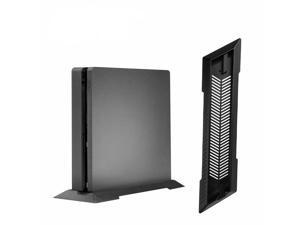 Vertical Stand Dock Mount Cradle Holder for Sony Playstation PS4 Slim Console
