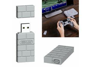 8Bitdo USB Wireless Bluetooth Adapter For Windows, Mac, Rasp Pi, Nintendo Switch