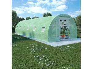 vidaXL Greenhouse 290.6 ft² 29.5' Walk-In Plant Garden